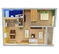 2-izbový byt typu A