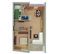 2-izbový byt typu B