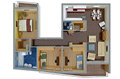4-izbový byt typu A