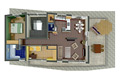 3-izbový byt typu C